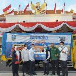Peduli Covid-19, Pansaka Charity dan Gerak BS Serahkan Bantuan 10 Ribu Paket Sembako